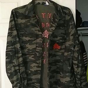 ⭐MEN'S camo Jean jacket